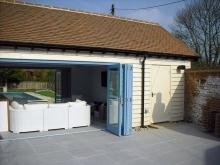 Lower Farm pool building