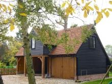 Foxglove Cottage garage